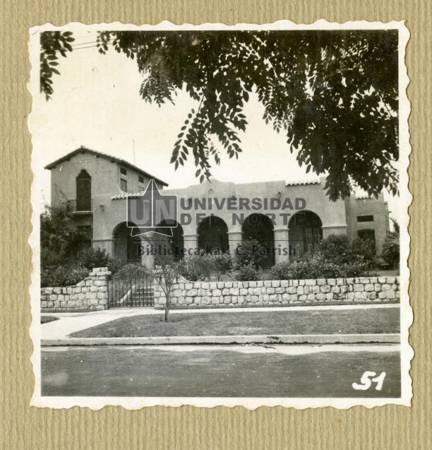 Residencia J. M. Santo Domingo